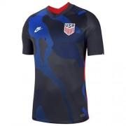 Nike USA National Team Away Jersey- 2020 Camiseta para hombre, Obsidiana oscura/blanco (dark obsidian/White), Small