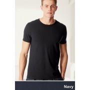 Mens Next T-Shirts Two Pack - Navy Tee T-Shirt