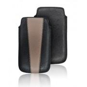 Housse Forcell - Duo - Apple iPhone 3G / 3GS / 4 / 4S / Nokia N97 / Samsung i900 OMNIA - Noir et Marron