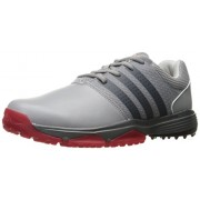 adidas Men's 360 Traxion WD Ltonix/Cbl Golf Shoe, Grey, 10 4E US