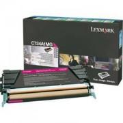 Тонер касета за Lexmark C734/C736,/X734,/X736,/X738 Magenta Toner Cartridge for 6 000 page - C734A1MG