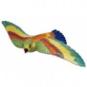 Oiseau multicolore en céramique 33 cm