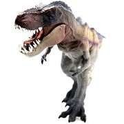 OneDolphin Tyrannosaurus Rex Toy Figure Walking T-Rex Jurassic Dinosaur Toys Figures as Kids Party Supplies 12-inch Gift for Collection
