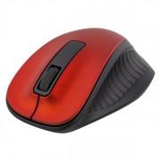 DELTACO trådlös optisk mus, 1200 DPI, röd