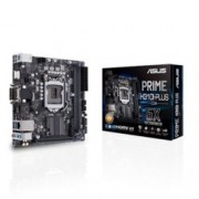 Дънна платка Asus PRIME H310I-PLUS/CSM, H310, LGA1151, DDR4, PCI-Е 3.0/2.0(DVI-D&HDMI&D-Sub), 4x SATA 6Gb/s, 1x M.2 Socket, 4x USB 3.1 (Gen 1), Mini ITX