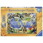 Puzzle Lumea animalelor, 300 piese