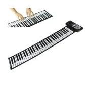 Portable Roll-up 61 Standard Keys Soft Keyboard Piano