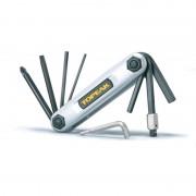 Szerszám Topeak X-Tool 10 jellemzői ezüst TT2321S