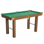 HOMCOM Billiards Table Mini Tabletop Pool Game with All Accessories