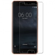 Nokia 6 2017 Pack Of 5 Premium Tempered Glass 2.5D 0.3mm Anti Oil Glass