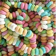 Candy Necklaces Dolly Beads Necklace Novelty Retro Sweets