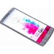 Folie Autocolanta Cu Sclipici Pentru LG G3, Argintiu