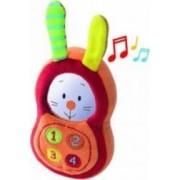 Jucarie bebelusi Minimi Fil Bunny Phone