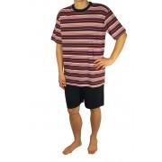 Devon pánské pyžamo M tmavě červená