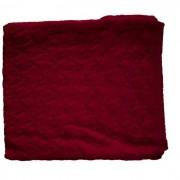 Paturica din lana merinos organica impletita 90x90 cm Iobio Cassis