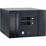 Carcasa server NAS fara sursa Inter-Tech SC-4002 Black