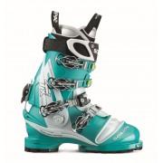 Scarpa Tx Pro Wmn - Emerald/Iceblue - Chaussures de ski 24,5