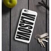 """Именной чехол для iPhone """"Знаменитость"""" белый"""