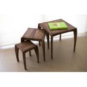PIB Trio de tables style scandinave Luna