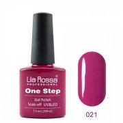 Oja semipermanenta OneStep Lila Rossa Professional 7.3ml OLROS021