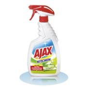 Spray Crema Curatare Bucatarie Ajax 100% Shine 500ml