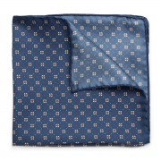 Pocket square with floral pattern 9630