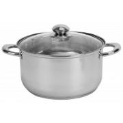 Oala Inox + Capac, 28x16.5cm, Capacitate 10 L, ADORA