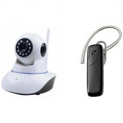Mirza Wifi CCTV Camera and HM 1100 Bluetooth Headset for SAMSUNG GALAXY S 5 SPORT(Wifi CCTV Camera with night vision |HM 1100 Bluetooth Headset With Mic )