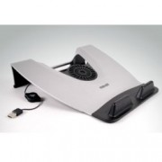 "Охлаждаща поставка за лаптоп MAXELL Laptop Cooler, за лаптопи до 15.6"" (39.62 cm), 2300 rpm, 1x вентилатор, USB 2.0 Type A, сребриста"