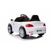 Masinuta electrica pentru copii Moderny Coupe alba 2x6V control parental
