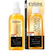 Ulei de par Eveline Cosmetics 8 in 1 Argan + Keratina Elixir of Gold 150 ml