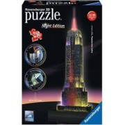 Ravensburger Empire State Building Night Edition - 3D puzzel gebouw - 216 stukjes