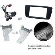 Kit integration 2 DIN SEAT IBIZA 2014- NOIR