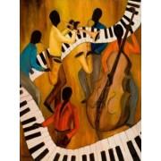 Gaira Malování podle čísel Muzikanti M993085