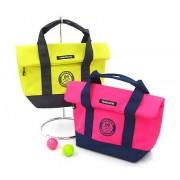 パーリーゲイツ バッグ&ポーチ ゴルフウェアメンズ Neonカラーフラップ風保冷カートバッグ