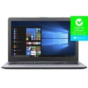 "Laptop ASUS VivoBook 15 X542UA-DM815R (Procesor Intel® Core™ i3-7100U (3M Cache, 2.40 GHz), Kaby Lake, 15.6""FHD, 4GB, 256GB SSD, Intel® HD Graphics 620, FPR, Win10 Pro, Gri) + Geanta Laptop Dicallo LLM0314 15.6"" (Neagra)"