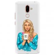 Plastové pouzdro iSaprio - Coffe Now - Blond - Nokia 7 Plus