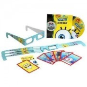 Toy / Game Mattel Nickelodeon Spongebob Squarepants 3d Dvd Game With 4 Pairs Of 3d Glasses (Ages 6+)