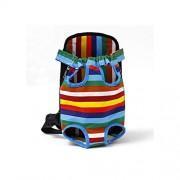 Liliduo-pet-coats Bolsa de Viaje para Perro de Color Rojo Transpirable para Mascotas, Cachorro, 4,S