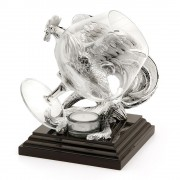 Incalzitor de cognac Silver Rooster Chinelli - made in Italy