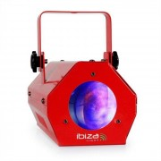Ibiza LCM003LED Moonflower RGBWA Musiksteuerung rot