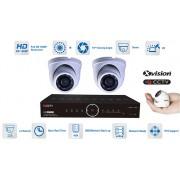 Kamerový system mikro AHD 2x kamera 1080P s 15m IR a DVR
