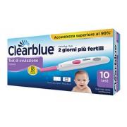 Procter & Gamble Srl Clearblue Plus Test Di Ovulazione Digitale Confezione Da 10 Test