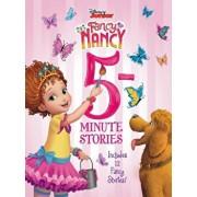 Disney Junior Fancy Nancy: 5-Minute Stories: Includes 12 Fancy Stories!, Hardcover/Various
