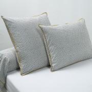 La Redoute Interieurs Fronha de almofada ou travesseiro, em percal, DUOEstampado Cinzento- 50 x 70 cm