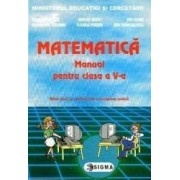 Manual matematica Clasa 5 - Mihaela Singer Mircea Radu Ion Ghica Ghe Drugan