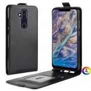 Nokia 8.1 / X7 / 8 2018 Flip3 Кожен Калъф и Скрийн Протектор