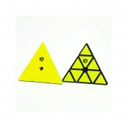 Cubo De Rubik Pyraminx QiYi X-Man Design Bell Magnético - Negro
