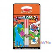 Melissa & Doug Kreatív játék Színrobbanás színező füzet dínók