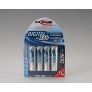 Batteria Ricaricabile formato Stilo (AA) (per macchine fotografiche e Flash) Ansmann Digital - 4 pezzi